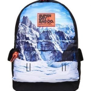Superdry Mountain Montana Reppu Musta