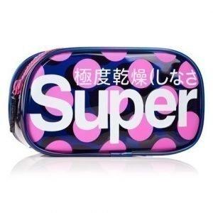 Superdry Polka Neon Laukku Laivastonsininen