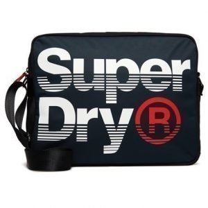 Superdry Premium Lineman Messenger Olkalaukku Laivastonsininen