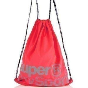Superdry Sport Laukku Kiristysnauhoilla Vaaleanpunainen