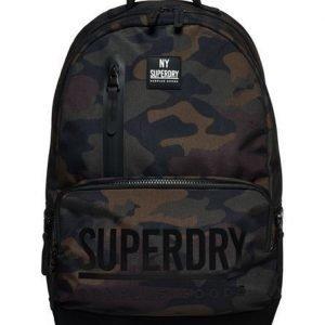 Superdry Surplus Goods Multizip Montana Reppu Musta