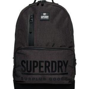 Superdry Surplus Goods Multizip Montana Reppu Tummanharmaa