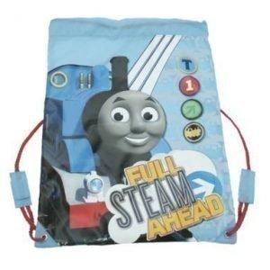 Tåget thomas jumppapussi blå