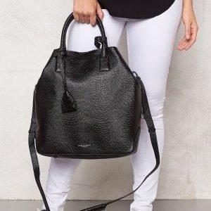 TIGER OF SWEDEN Generoso Leather Bag 050 Black