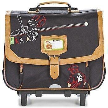 Tann's COLLECTOR BASEBALL TROLLEY CARTABLE 38 CM pyörillä kulkeva koululaukku