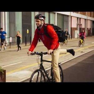 Targus Work + Play Cycling Pyöräilyreppu Musta 28 L