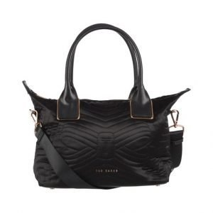 Ted Baker Akebia Quilted Bow Small Tote Laukku