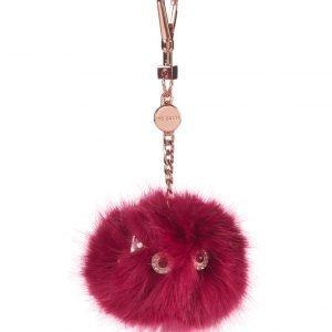 Ted Baker Anita Fluffy Bag Charm Laukkukoru