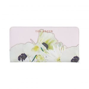 Ted Baker Ariadne Pearly Petal Xhatch Nahkalompakko