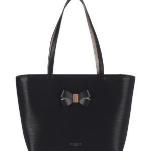Ted Baker Bowmisa Bow Detail Small Shopper Nahkalaukku