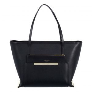 Ted Baker Camile Pocket Detail Shopper Nahkalaukku
