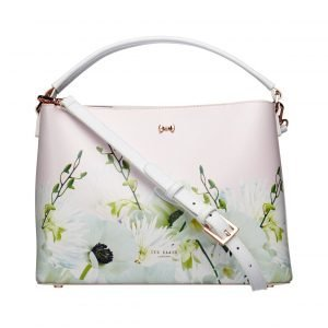 Ted Baker Candise Pearly Petal Bow Med Tote Nahkalaukku