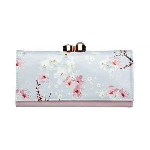 Ted Baker Chiara Oriental Blossom Leather Matinee Purse Nahkalompakko