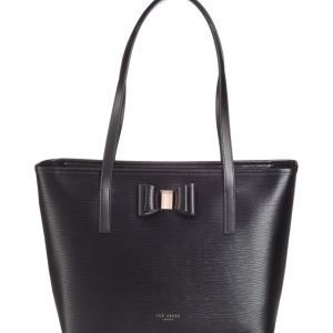 Ted Baker Claudia Bow Detail Small Shopper Nahkalaukku