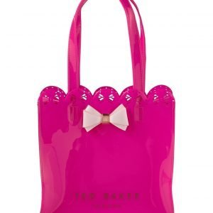 Ted Baker Ellicon Scallop Edge Small Bow Shopper Laukku