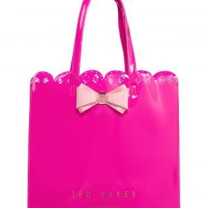 Ted Baker Evecon Scallop Edge Large Bow Shopper Laukku
