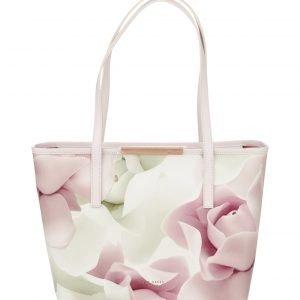 Ted Baker Joanah Porcelain Rose Sml Shopper Nahkalaukku