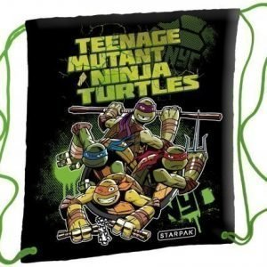 Teenage Mutant Ninja Turtles jumppapussi gymnastikpåse
