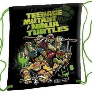 Teenage Mutant Ninja Turtles jumppapussi gymnastikpåse