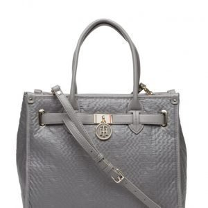 Tommy Hilfiger American Icon Tote Knitted Texture olkalaukku