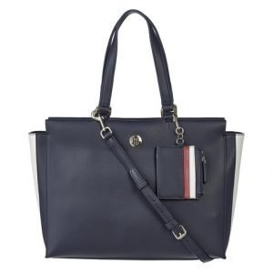 Tommy Hilfiger Effortless Saffiano Ew Tote Laukku