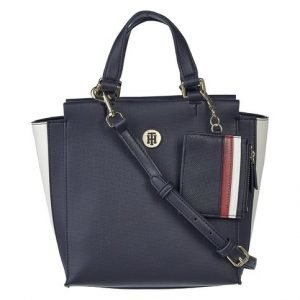 Tommy Hilfiger Effortless Saffiano Satchel Laukku
