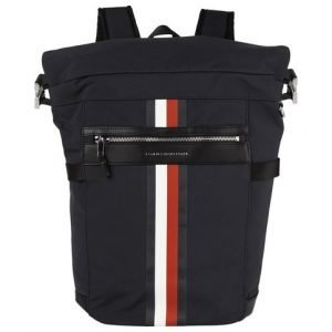 Tommy Hilfiger Elevated Signature Tape Rolltop Reppu