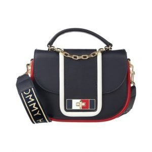 Tommy Hilfiger Fancy Th Leather Medium Crossover Nahkalaukku