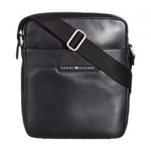 Tommy Hilfiger Smooth Leather Slim Reporter Nahkalaukku