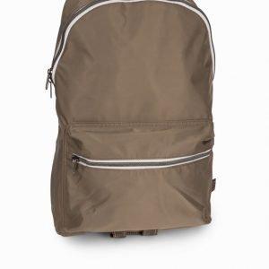 Topman Camel High Shine Backpack Reppu Stone