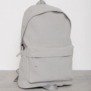 Topman Faux Suede Backpack Reppu Grey