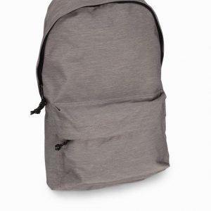 Topman Grey Nylon Backpack Reppu Light Grey