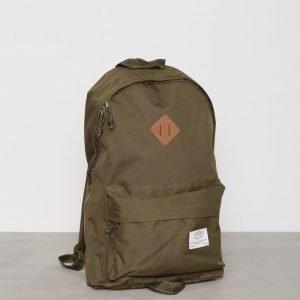 Topman Khaki Backpack Reppu Stone
