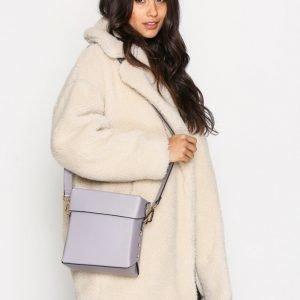 Topshop Boxy Shoulder Bag Olkalaukku Lilac