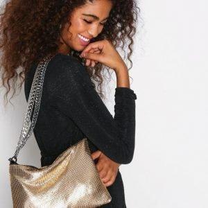 Topshop Chain Shoulder Bag Olkalaukku Gold