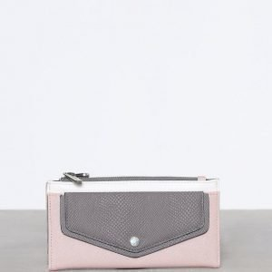 Topshop Front Pocket Block Purse Lompakko Pink