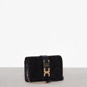 Topshop Hardware Crossbody Bag Olkalaukku Black