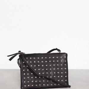 Topshop Leather Studded Cross Body Bag Olkalaukku Black