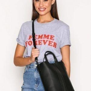 Topshop Stud Mini Tote Bag Käsilaukku Black
