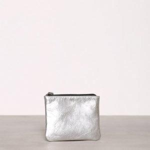 Topshop Zipped Leather Purse Lompakko Hopea