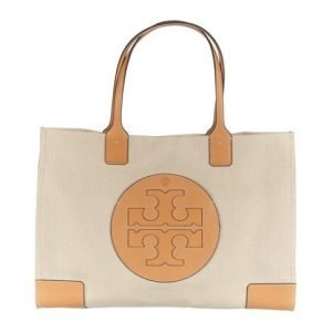 Tory Burch Ella Canvas Tote Laukku
