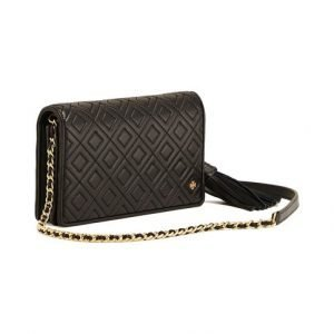 Tory Burch Fleming Flat Wallet Cross Body Nahkalaukku