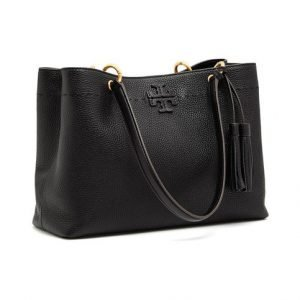 Tory Burch Mcgraw Triple Compartment Ring Tote Nahkalaukku