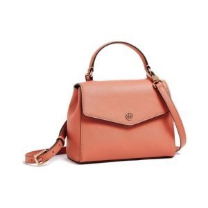 Tory Burch Robinson Small Top Handle Satchel Nahkalaukku