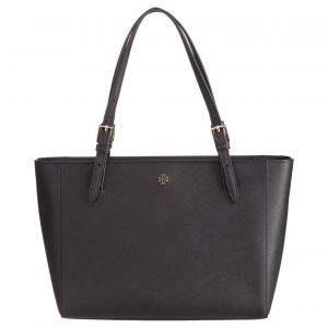 Tory Burch York Small Top Zip Buckle Tote Nahkalaukku