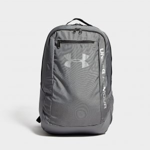 Under Armour Hustle Backpack Reppu Tummanharmaa