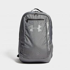 ... Under Armour Hustle Backpack Reppu Tummanharmaa 28273c3cfe