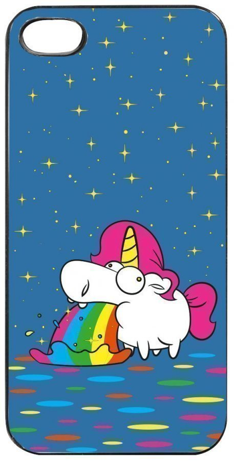 Unicorn Puking Unicorn Iphone 5/5s Matkapuhelinkotelo