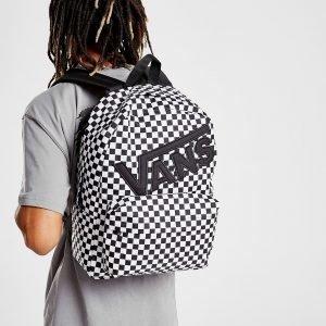 Vans Check Backpack Reppu Valkoinen