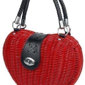 Voodoo Vixen The Monroe Red Käsilaukku